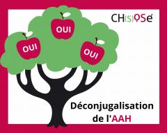AAH, déconjugalisation aah, mobilisation, 16 septembre 2021